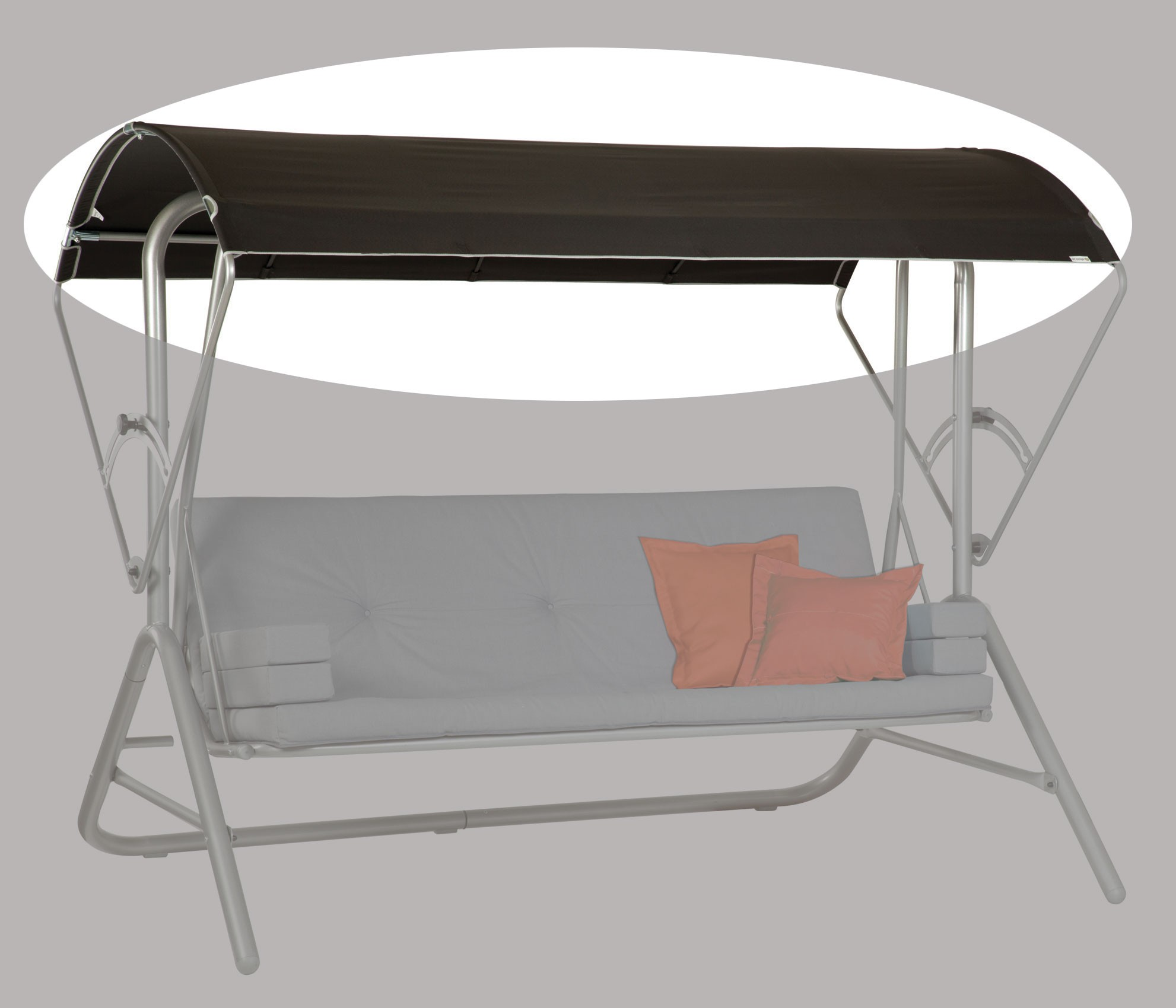 acamp hollywoodschaukel ersatzdach schwimmbadtechnik. Black Bedroom Furniture Sets. Home Design Ideas