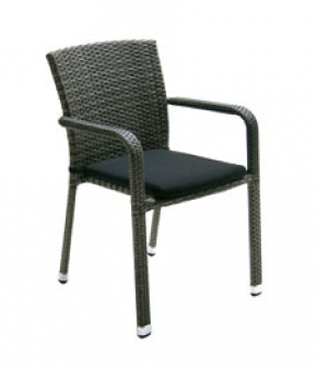 gartensessel korbsessel acamp carlos stapelbar. Black Bedroom Furniture Sets. Home Design Ideas