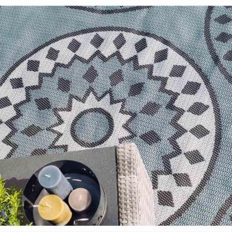 Outdoor-Teppich Siena Garden Strome Set Polypropylen 213x160+112x80cm Bild 2