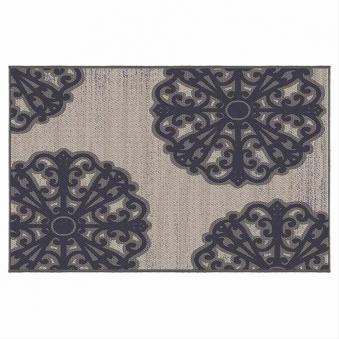 Outdoor-Teppich Siena Garden Tantallon Polypropylen 190x133cm Bild 1