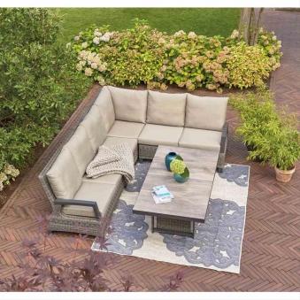 Outdoor-Teppich Siena Garden Tantallon Polypropylen 250x200cm Bild 4
