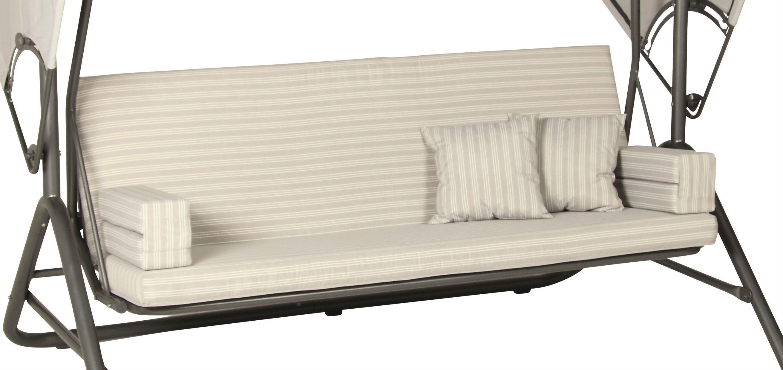 auflage ersatzkissen zu acamp liegeschaukel star french grey bei. Black Bedroom Furniture Sets. Home Design Ideas