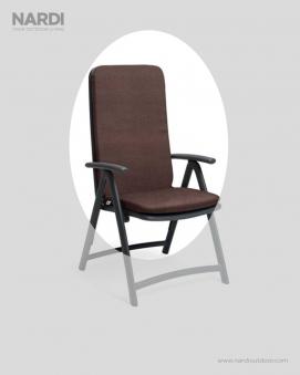 Auflage / Polster für Nardi Relaxsessel Darsena 118,5x49cm caffè Bild 1