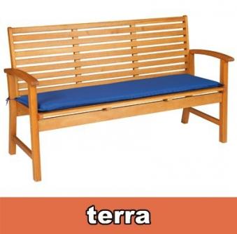 Doppler Auflage für Gartenbank / Bankauflage 2-Sitzer terracotta Bild 1