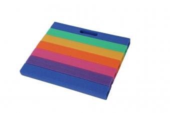Knie- und Sitzkissen Comfort 35x30x3 cm Regenbogen Bild 1