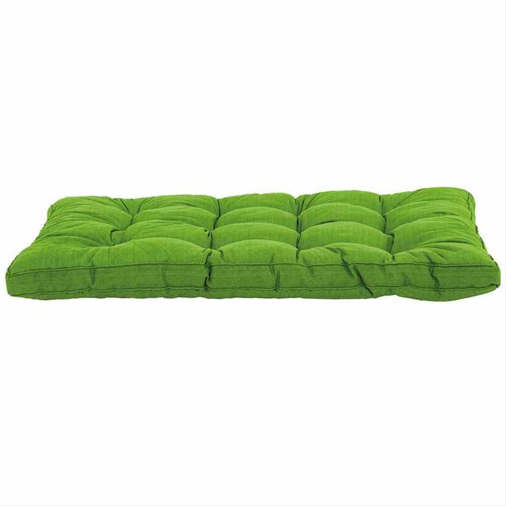 Palettenkissen / Sitzkissen 120x80cm Madison Basic grün Bild 1