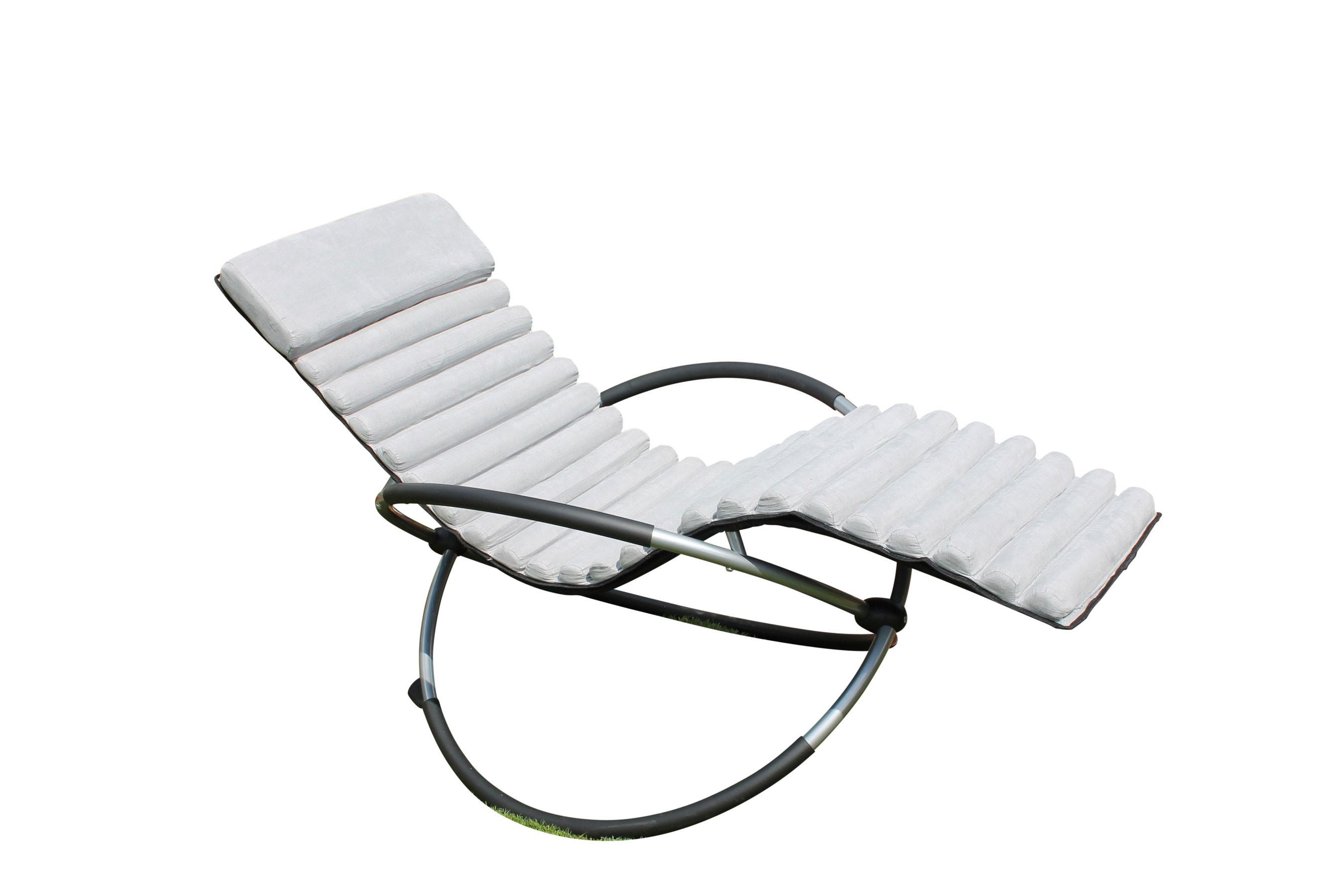 polster auflagen schaukelstuhlkissen f r leco schaukelstuhl grau bei. Black Bedroom Furniture Sets. Home Design Ideas