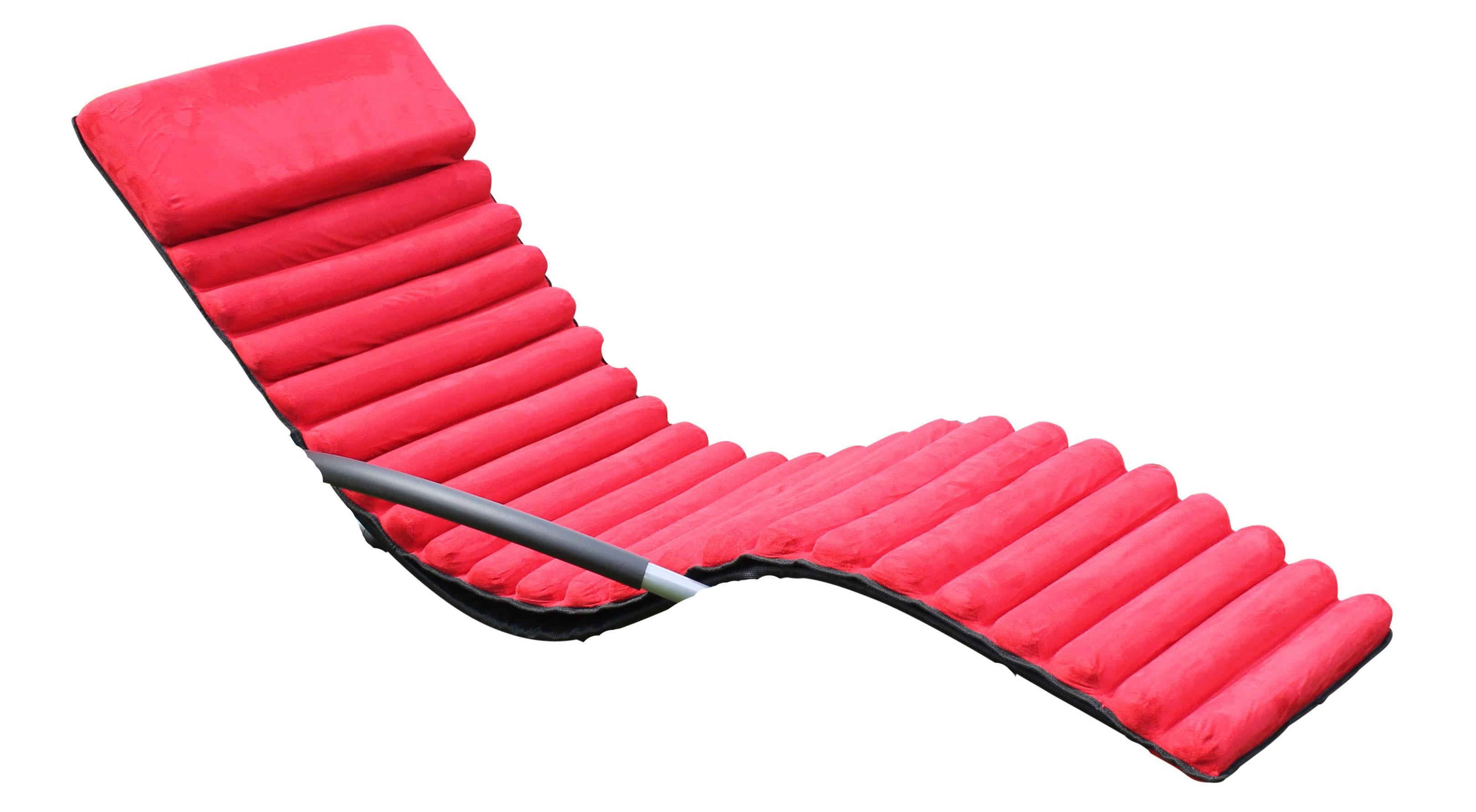 polster auflagen schaukelstuhlkissen f r leco schaukelstuhl rot bei. Black Bedroom Furniture Sets. Home Design Ideas