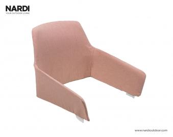 Seiten/Rücken Polster Shell Nardi Gartensessel Net Relax rosa quarzo Bild 1