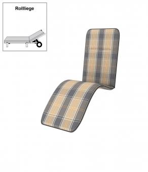 Doppler Polster / Auflage für Rollliege Des. Basic 7107 Bild 1