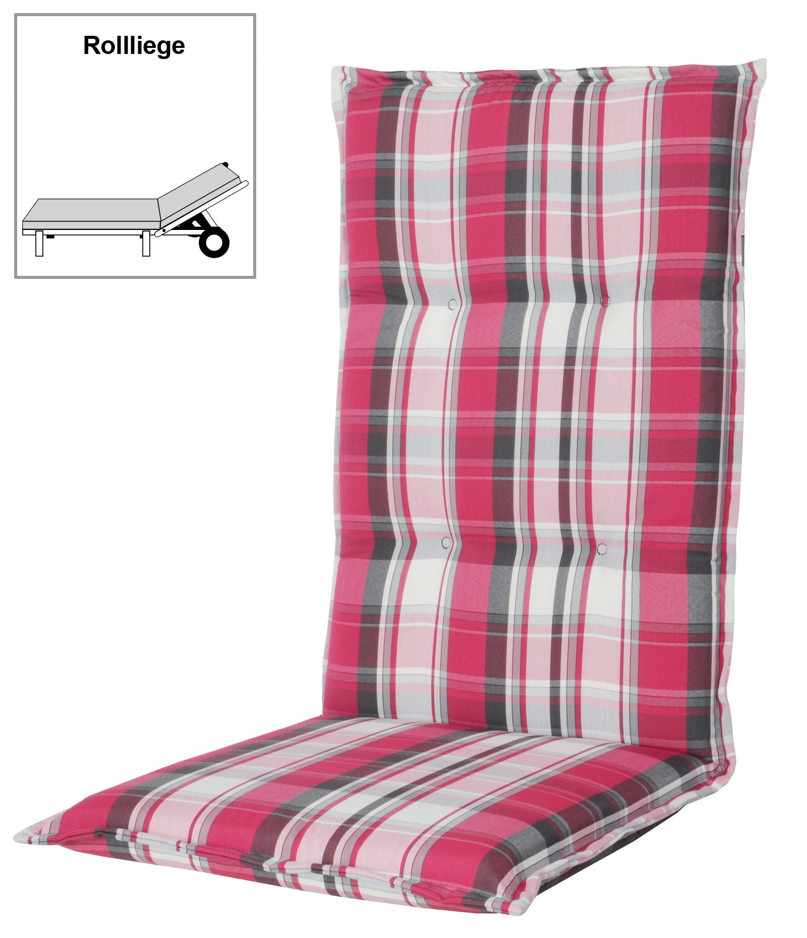 polster auflage f r gartenm bel gartenliege comfort d 5317 bei. Black Bedroom Furniture Sets. Home Design Ideas