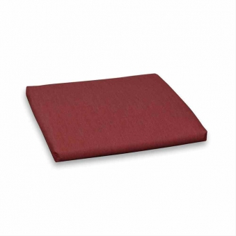 Polster / Auflage für Gartenmöbel Gartenhocker Des. Royal rot Bild 1