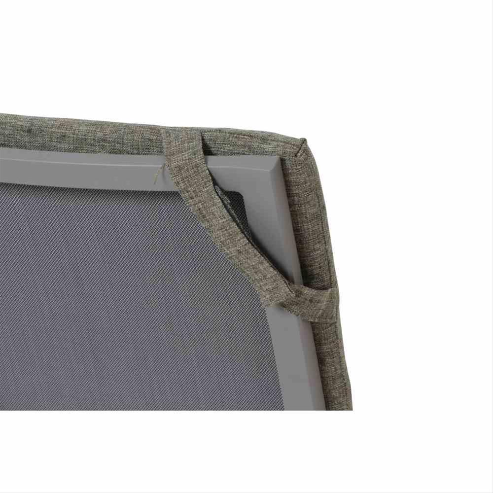 Polster / Auflage für Gartensessel 89x46cm Des. Sisal oliv Bild 3