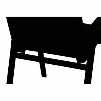 Polster / Auflage für Gartensessel 89x46cm Des. Sisal oliv Bild 4