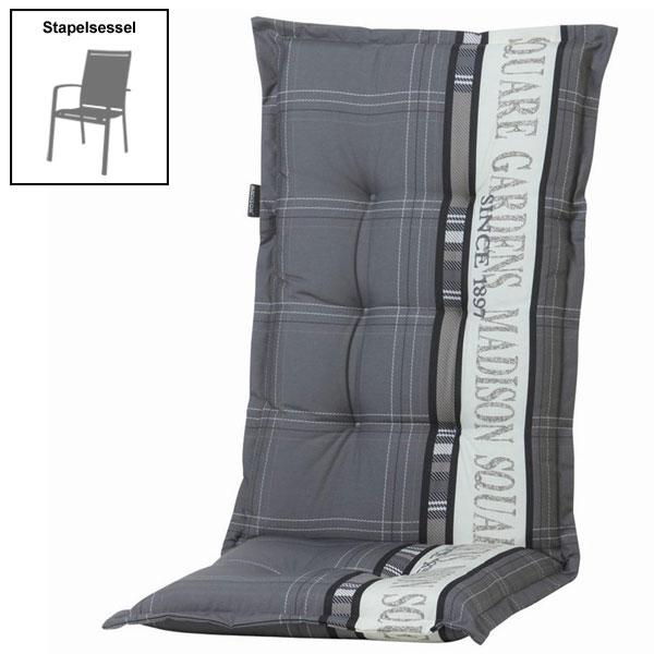 polster auflage f r gartenm bel stapelsessel des. Black Bedroom Furniture Sets. Home Design Ideas