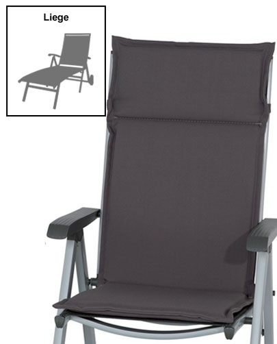 sun garden auflage f r gartenm bel gartenliege des esdo. Black Bedroom Furniture Sets. Home Design Ideas