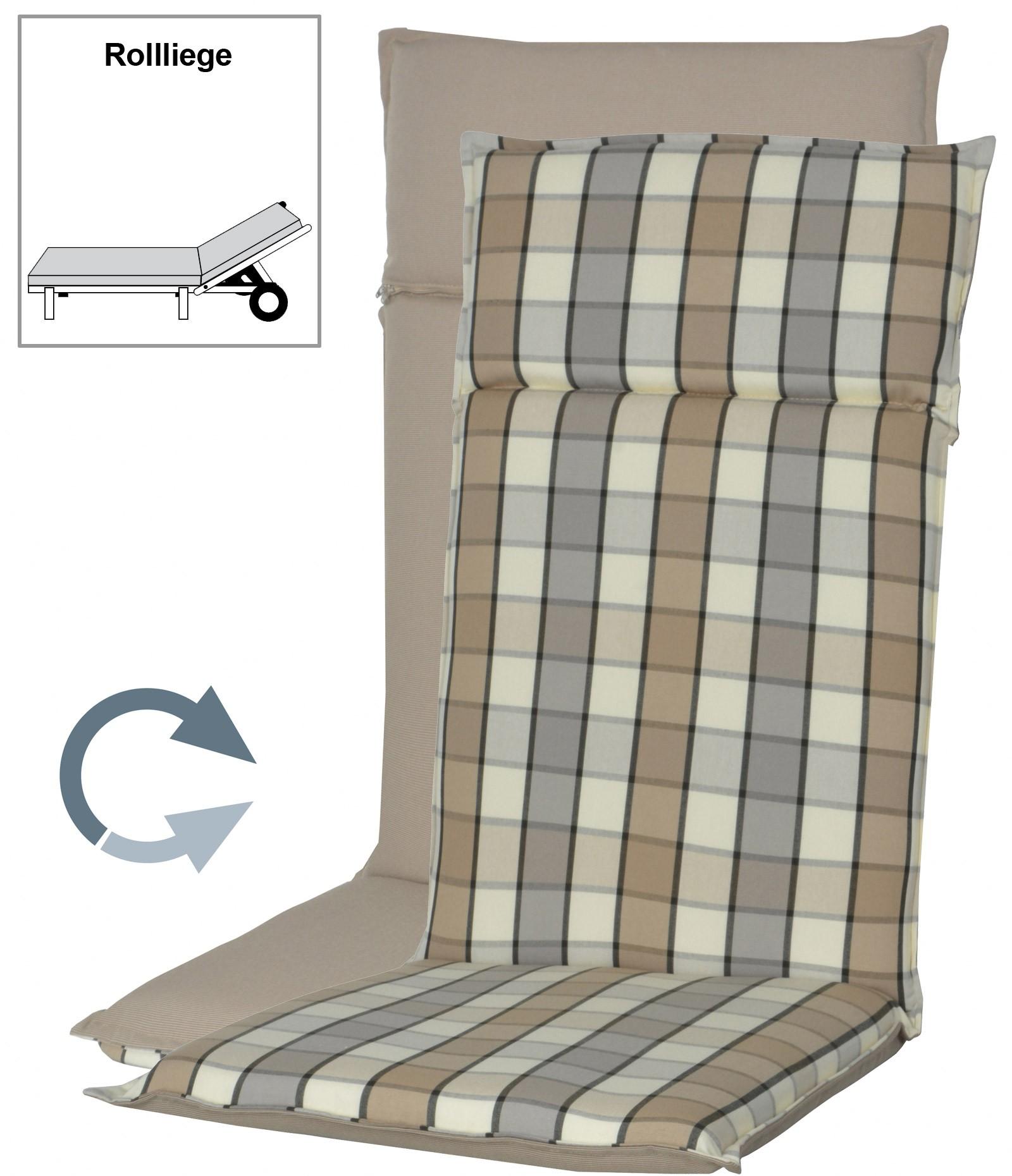 polster auflage f r gartenm bel gartenliege fashion d 5017k bei. Black Bedroom Furniture Sets. Home Design Ideas