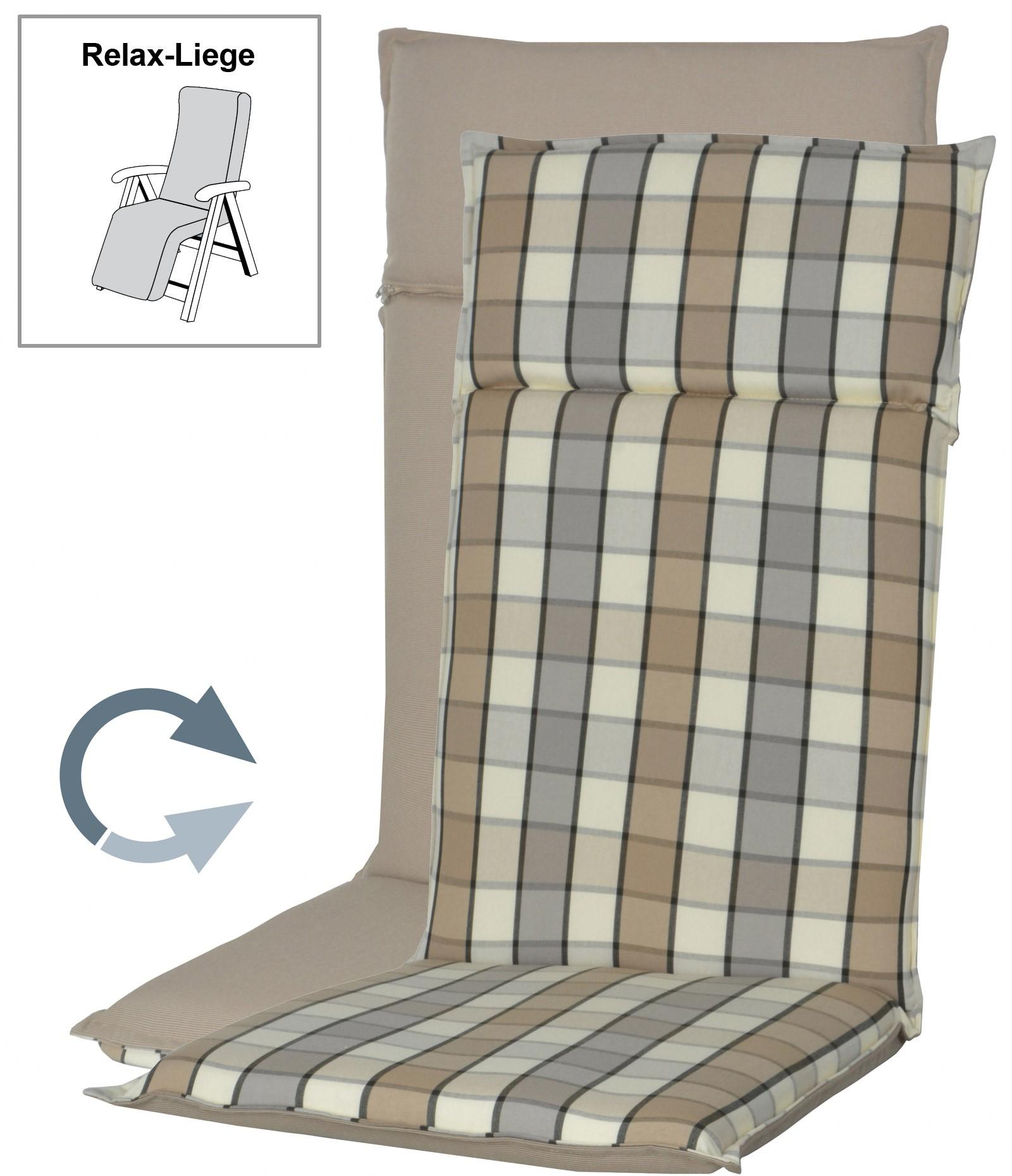 polster auflage f r gartenm bel relaxsessel fashion d. Black Bedroom Furniture Sets. Home Design Ideas