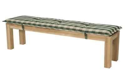 auflage polster f r gartenm bel gartenbank country 180. Black Bedroom Furniture Sets. Home Design Ideas