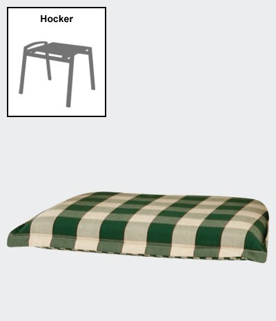 polster auflage f r gartenm bel gartenhocker des kent. Black Bedroom Furniture Sets. Home Design Ideas