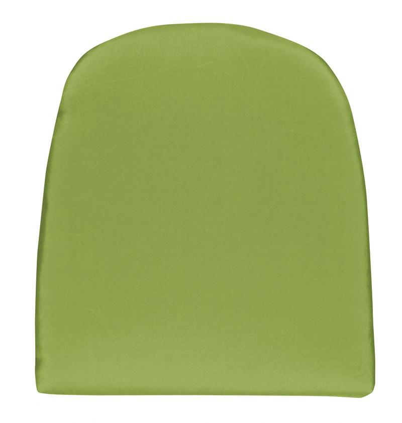 Doppler Sitzkissen / Stuhlkissen gerundet 43x48cm Look D 836 grün Bild 1
