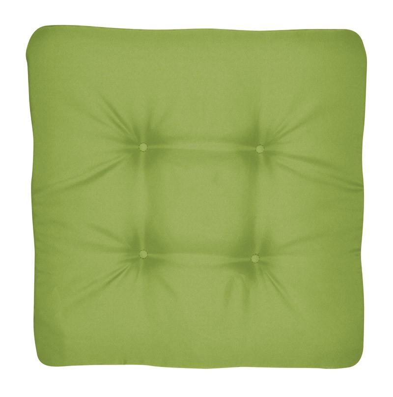 Doppler Sitzkissen / Stuhlkissen quadratisch 45x45cm Look D 836 grün Bild 1