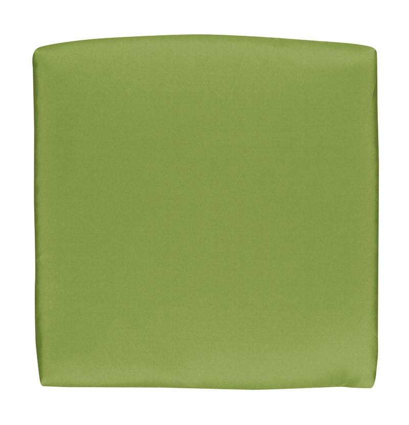 Doppler Sitzkissen / Stuhlkissen rechteckig 45x47cm Look D 836 grün Bild 1