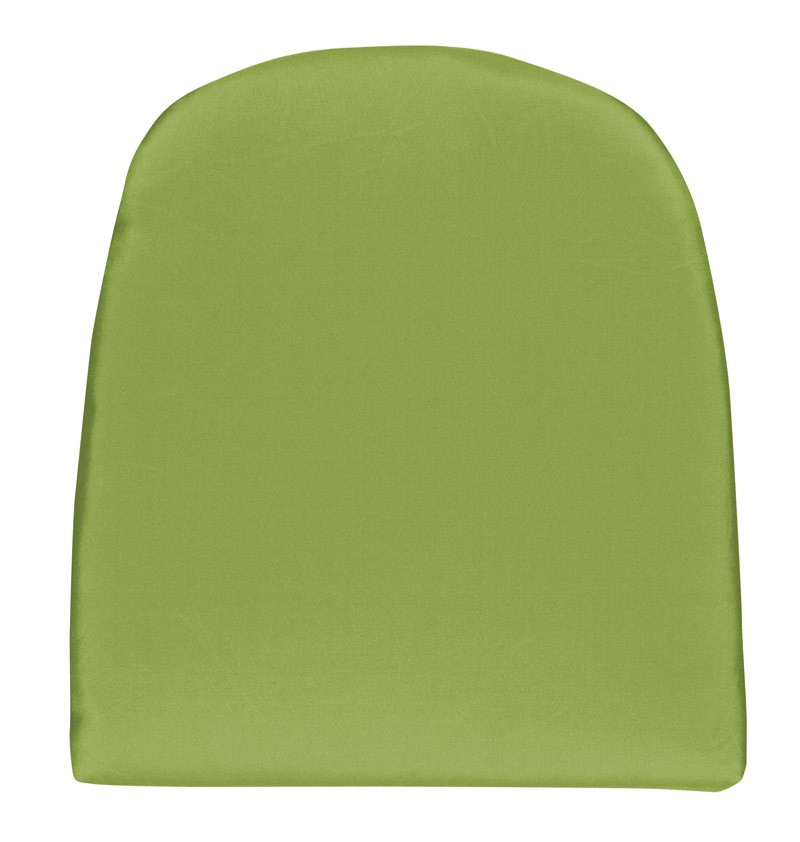 sitzkissen stuhlkissen gerundet 43x48cm look d 836 gr n bei. Black Bedroom Furniture Sets. Home Design Ideas