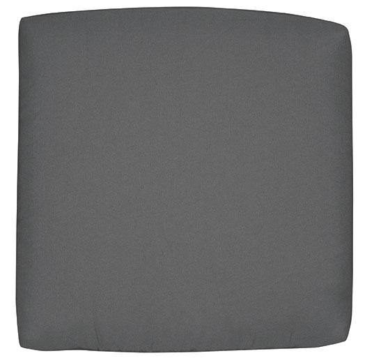 Doppler Sitzkissen / Stuhlkissen quadratisch 38x38cm Look D 840 anthr. Bild 1