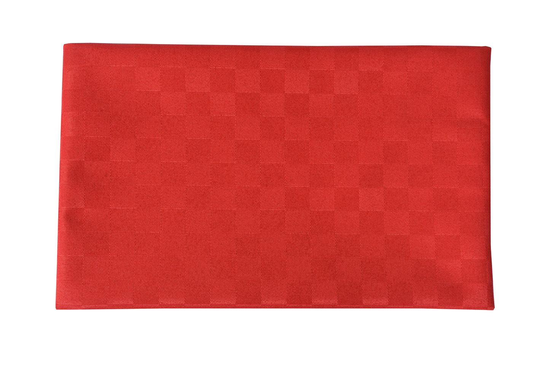 Doppler Tischläufer / Tischdecke 140x50cm Des. Look 809 rot Bild 1