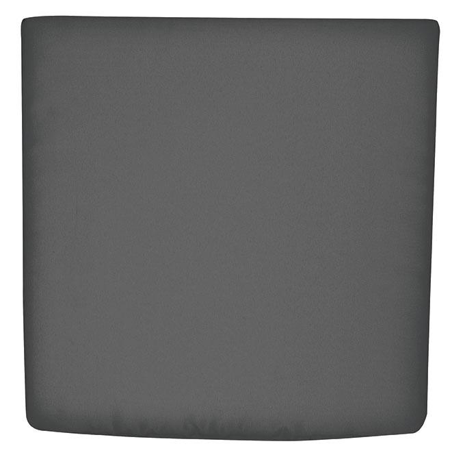 Sitzkissen / Stuhlkissen rechteckig 45x47cm Look D 840 anthrazit Bild 1