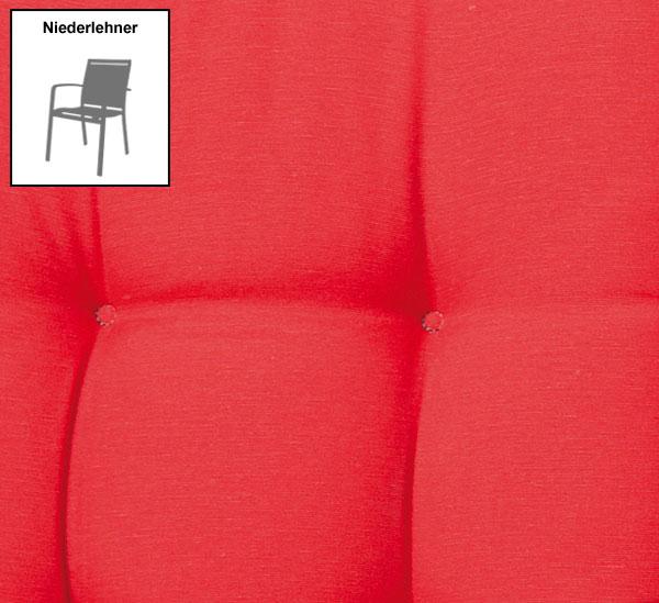 Madison Polster / Auflage für Gartensessel NL Des. Panama red Bild 1