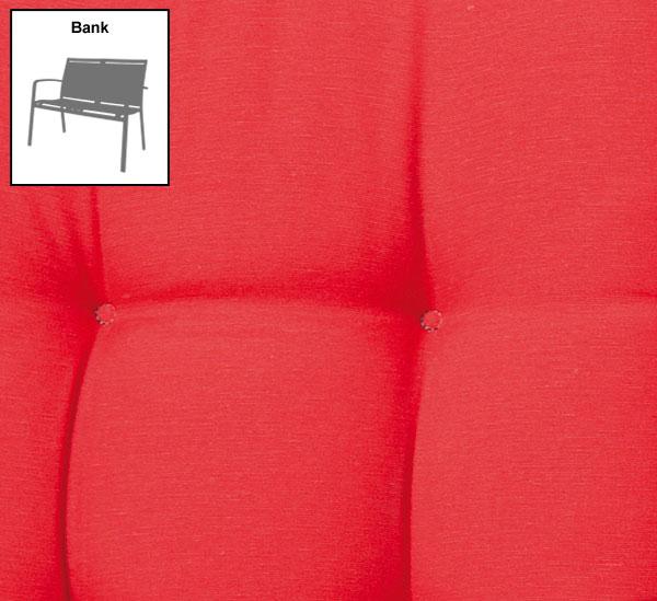 polster auflage f r gartenbank 140 cm des panama red bei. Black Bedroom Furniture Sets. Home Design Ideas