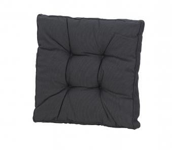 Madison Universal Sitzkissen / Loungekissen 60x60x12cm Des. Rib black Bild 1