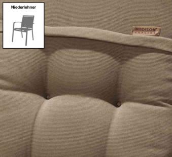Madison Auflage / Polster für Gartensessel NL Des. Rib liver Bild 1
