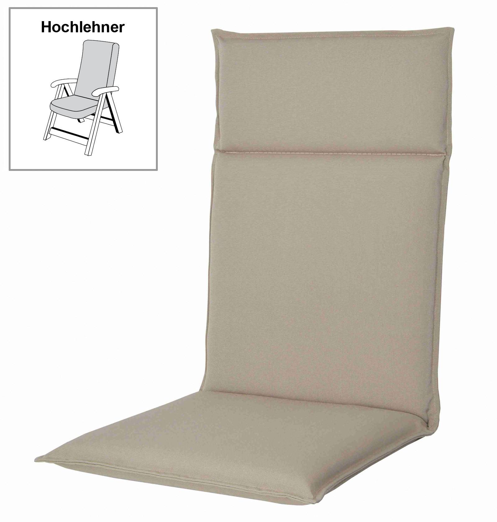 polster auflage f r gartenm bel gartensessel hl spirit d. Black Bedroom Furniture Sets. Home Design Ideas