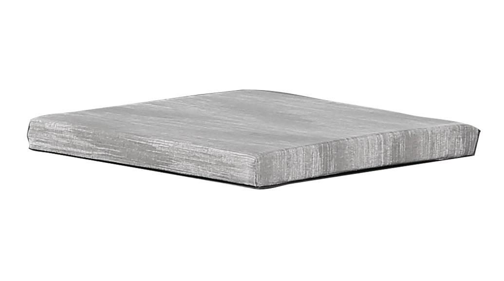 Auflage / Sitzkissen Rockall 40x40x4cm D1670 grau Bild 1