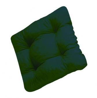 Sitzkissen / Stuhlkissen Soft 40 x 40 cm Des. 904 grün Bild 1