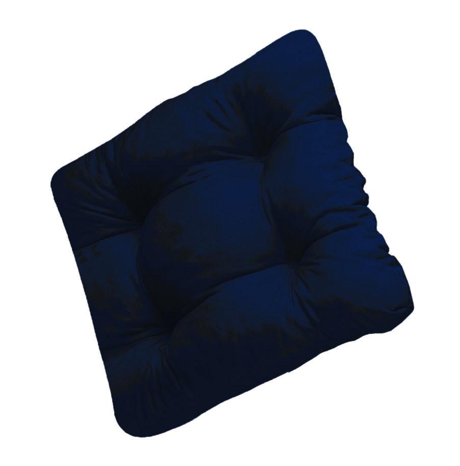 Sitzkissen / Stuhlkissen Soft 40 x 40 cm Des. 906 blau Bild 1