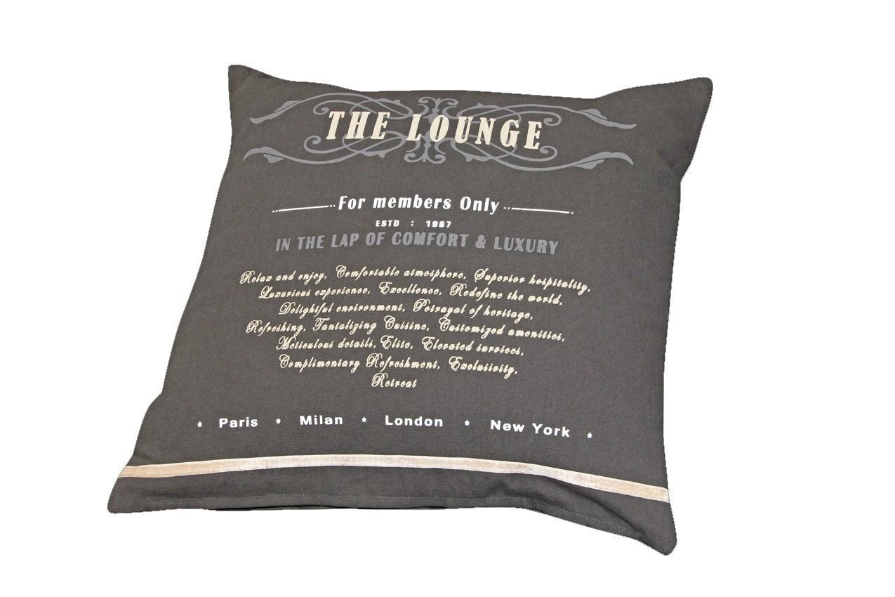 Doppler Sofakissen / Zierkissen 50x50cm Des. the Lounge 8995 Bild 1