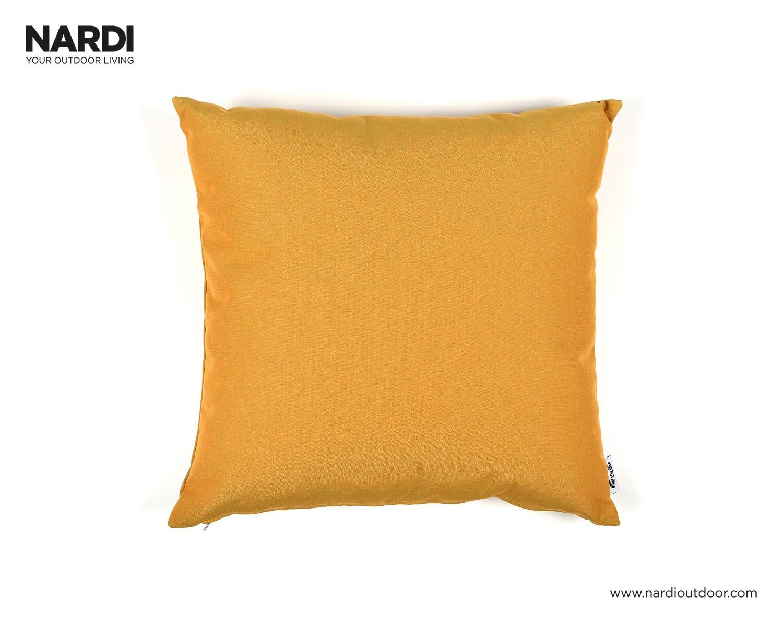 Nardi Dekokissen / Zierkissen Cuscino Passpartout 50x48cm senape Bild 1