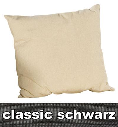 Sonnenpartner Kissen / Sofakissen 40x40cm Classic schwarz Bild 1