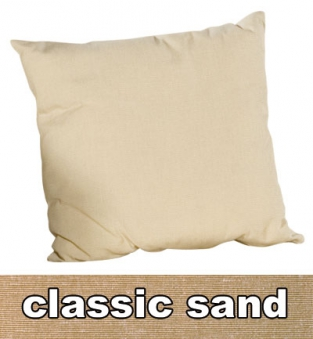 Sonnenpartner Kissen / Sofakissen 50x50cm Classic Sand Bild 1