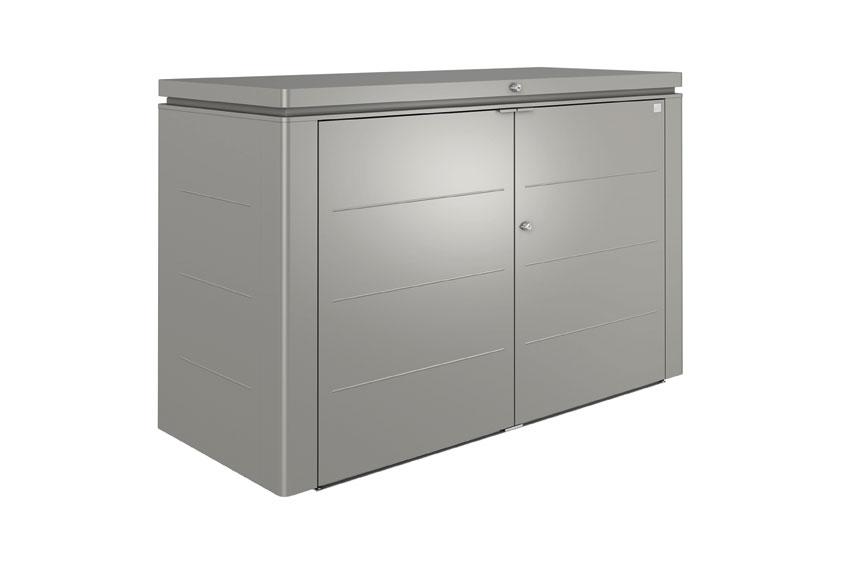 biohort ger teschrank highboard 200 quarzgrau metallic. Black Bedroom Furniture Sets. Home Design Ideas