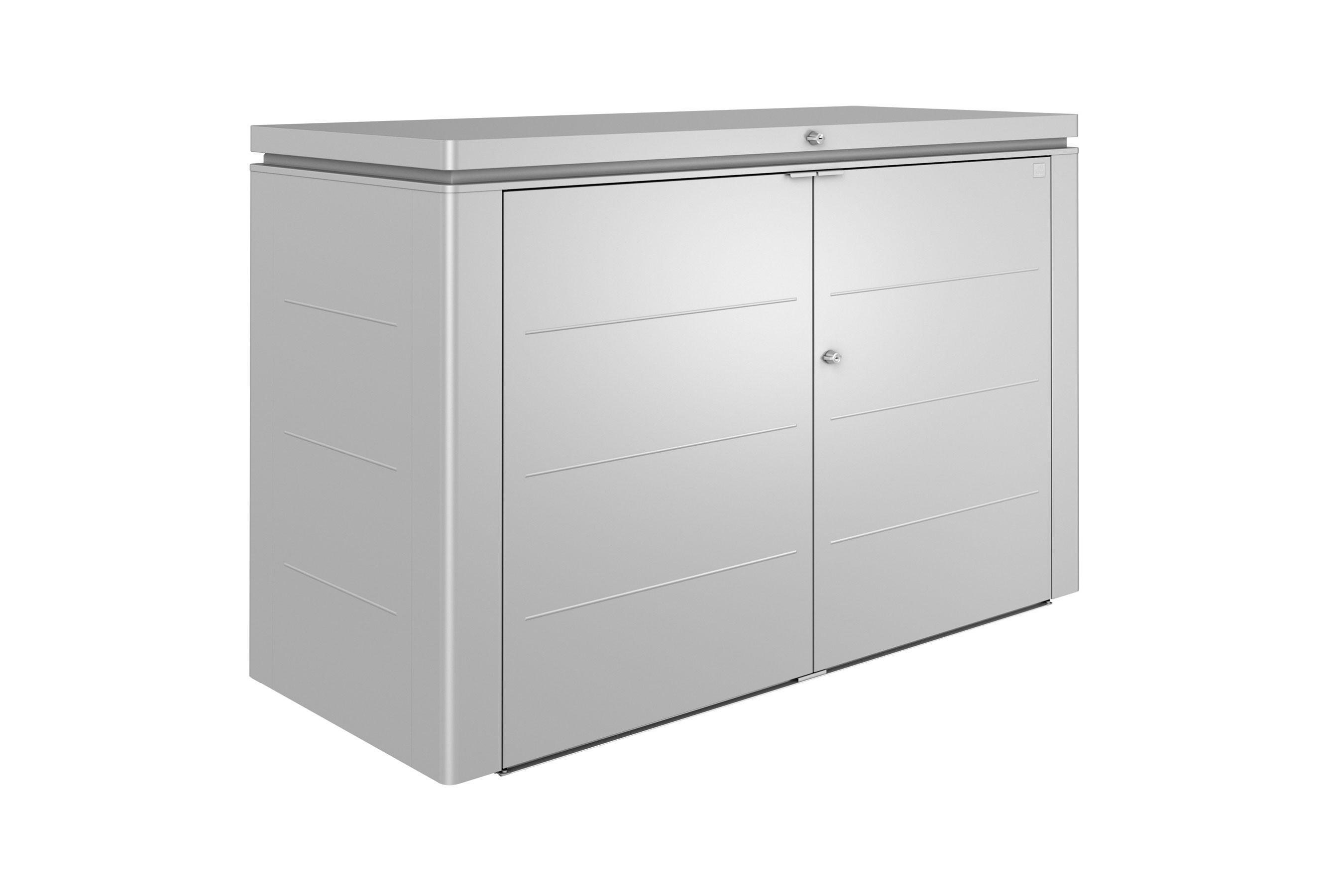biohort ger teschrank highboard gr 200 silber. Black Bedroom Furniture Sets. Home Design Ideas
