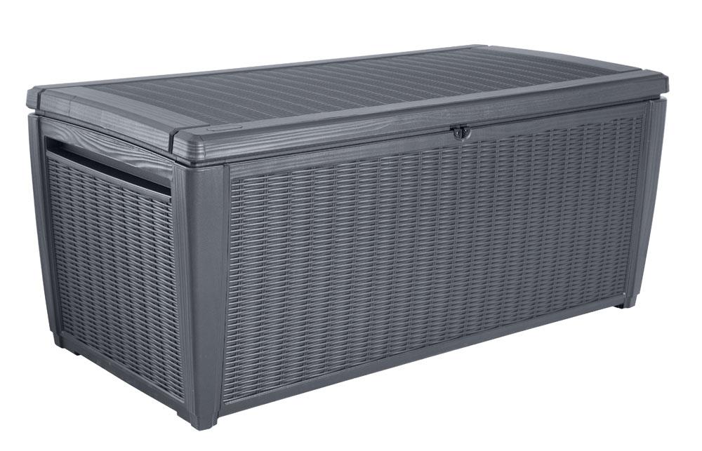 gartenbox aufbewahrungsbox sumatra tepro kunststoff 145x73x64cm bei. Black Bedroom Furniture Sets. Home Design Ideas