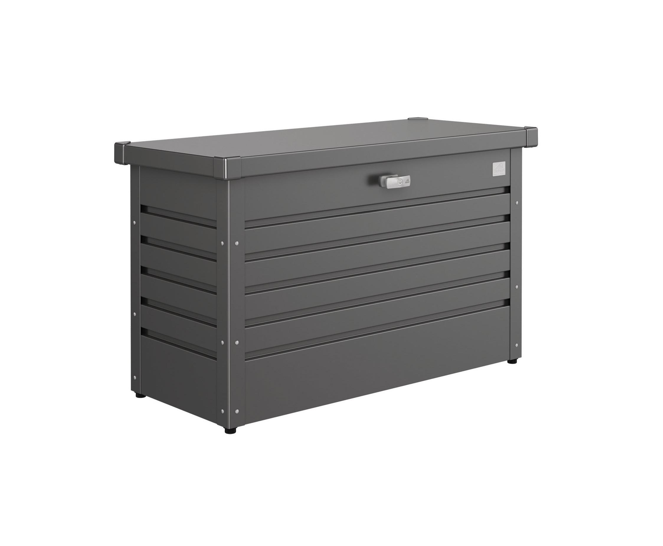 Gartenbox Auflagenbox Biohort Freizeitbox 100 dunkelgrau-metallic Bild 1