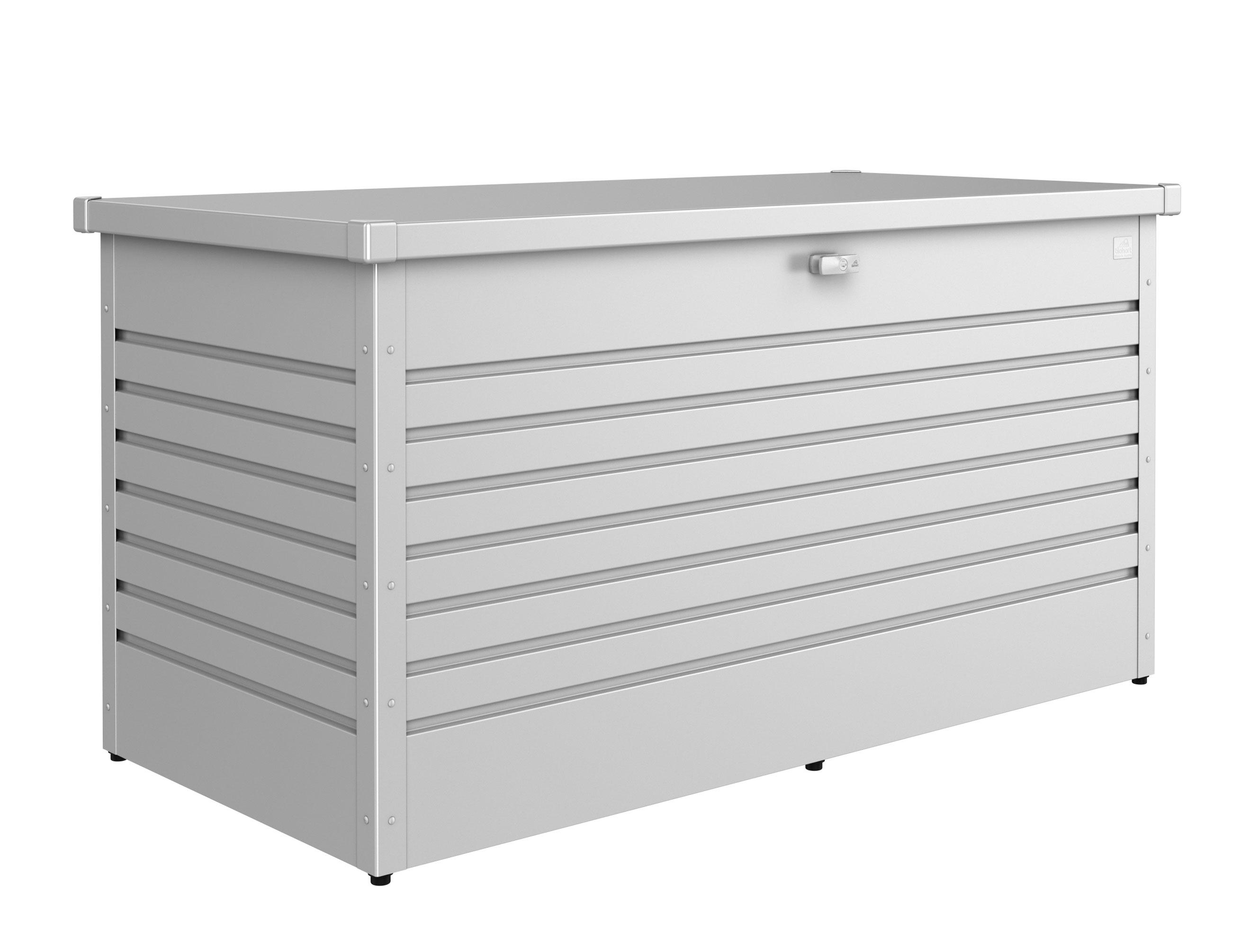 Gartenbox Auflagenbox Biohort Freizeitbox 100 silber-metallic Bild 1