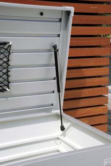 Gartenbox Auflagenbox Biohort Freizeitbox 100 silber-metallic Bild 2