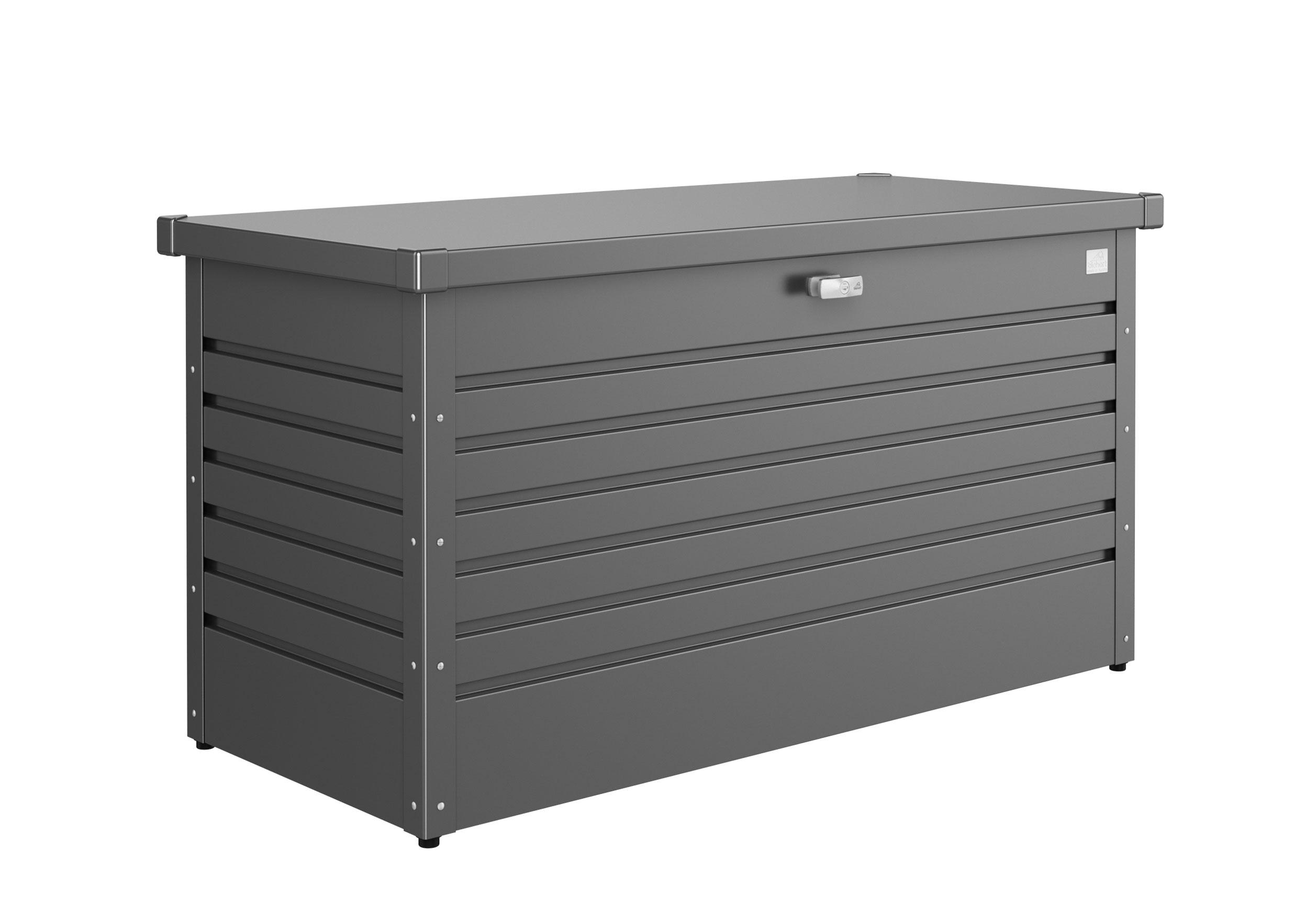 Gartenbox Auflagenbox Biohort Freizeitbox 130 dunkelgrau-metallic Bild 1
